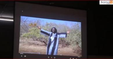 Lancement du clip Environnement de l'artiste Ras SIMPOSH