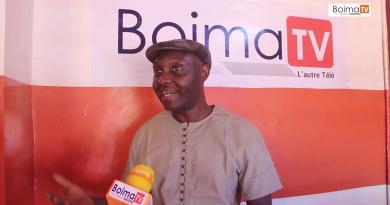 Visite de courtoisie de l'artiste BASIC SOUL l'un des pionnier du rap Burkinabé dans les locaux de BOIMA TV