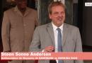 SEM Christophe Joseph Marie DABIRÉ a reçu en audience Steen Sonne Andersen , ambassadeur du Royaume du DANEMARK au BURKINA FASO