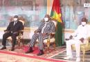 Le Président du Faso Roch Marc Christian KABORE a reçu en audience ce 10 Mai 2021 le ministre d'Etat , ministre de la défense de la République de Côte d'Ivoire, Téné Birahima Ouattara.