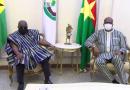 Le président de la république du Ghana en visite d'amitié et de travail avec son homologue burkinabè
