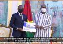 Le Président sortant de la CCR/UEMOA et le Gouverneur de la BCEAO en audience à la Présidence du Faso