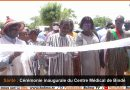 Inauguration du centre médical de Bindé