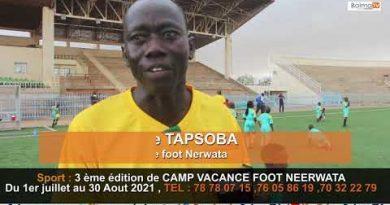 3 ème édition de CAMP VACANCE FOOT NEERWATA