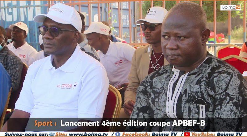 Lancement de la 4 ème édition de la coupe  APBEF-B