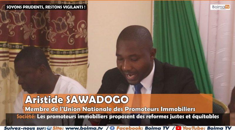[REPORTAGE] SOCIETE: LES PROMOTEURS IMMOBILIERS CRITIQUENT LA REFORME EN COURS PORTANT PROMOTION IMMOBILIÈRE AU BURKINA FASO.