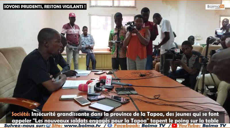 [REPORTAGE] SOCIETE: LES NOUVEAUX SOLDATS ENGAGES POUR LA TAPOA